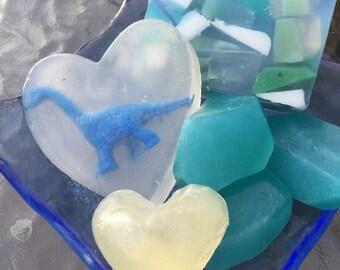 Dinosaur Love soap set
