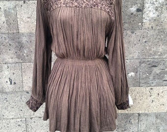 Spanish embroidery dress