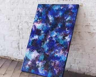 """Abstract Canvas Painting for Wall Decor """"No. 254 JellyBeans"""""""