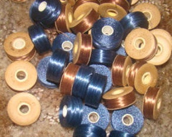 50 Small Vintage Spools ot Thread