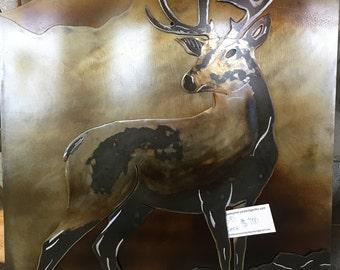 3-D Buck Deer