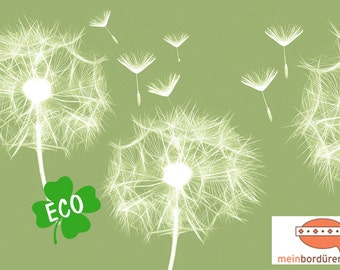 ECO border: flower | Border for allergy sufferers, flower border, wall border, nonwoven, wall trims dandelions