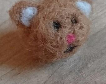 Little Felted Bear