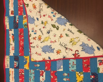 Dr. Suess Baby/Toddler Quilt