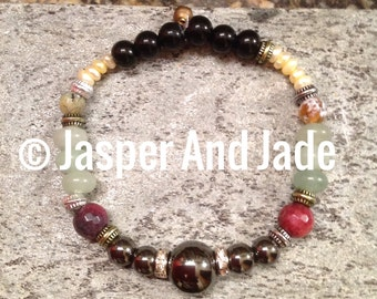 Natural and beautiful stone bracelets that are a wonder to behold!