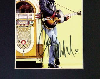 GEORGE MICHAEL Mounted Signed Photo Reproduction Autograph Print A4 641