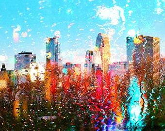 Colorful Minneapolis