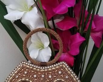 Beautiful Brown Mini Handbag
