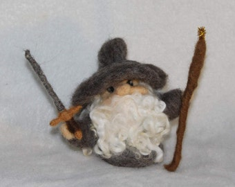 Gandalf the Grey Wool Figure