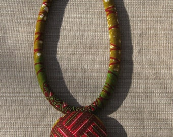 Necklace Ethnic Wax