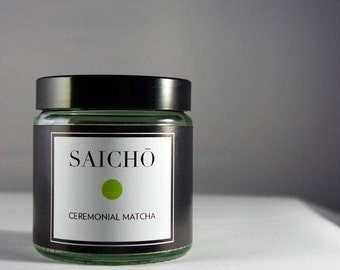 Saichō Ceremonial Matcha - Made in Japan - Organic
