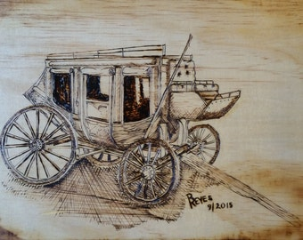 Lonely Stagecoach