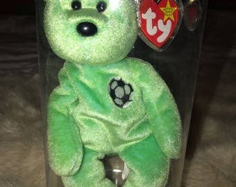Ty Beanie Baby Kicks with Tag Errors