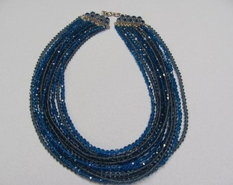 Made IN AUSTRIA  Multi strand necklace
