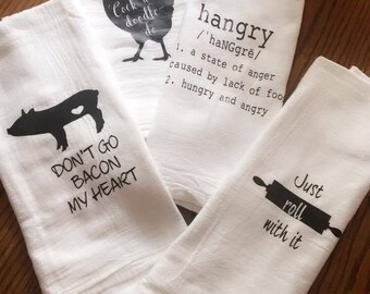Flour Sack Kitchen Towels