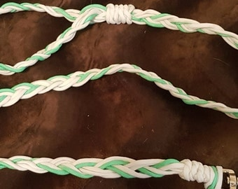 On sale Glow in the Dark Braided Paracord Dog Leash