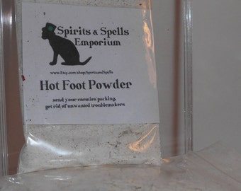 Hot Foot Powder - Hoodoo, banishing, protection