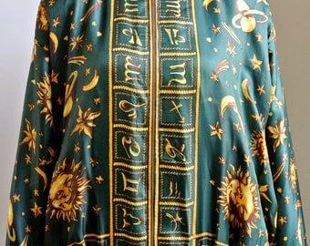 Vintage Astrology Bomber Jacket
