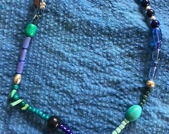Boho ocean necklace