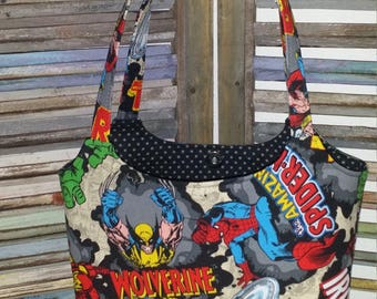 Marvel Purse with Wolverine