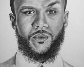 Graphite Drawing- Jidenna