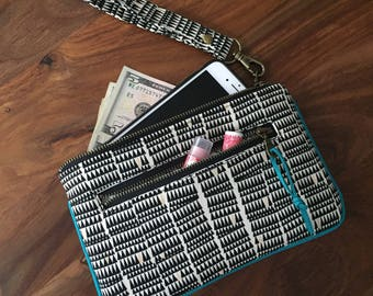Wristlet Wallet - Crooked Teeth