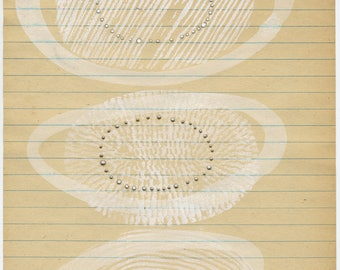 moment XI - original drawing by olivia jeffries