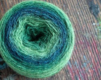 Pure wool knitting yarn - 92 g