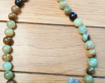 Butterfly and Jade Necklace