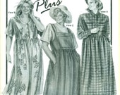 Stretch & Sew 526 Dress and Bib Front Jumper ANN PERSON COLLECTIBLES Plus Sizes Bust 46 - 56