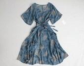 90s floral dress | sheer dress | oversized baggy dress
