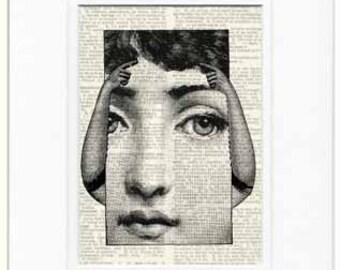 Armed Lina Cavalieri print