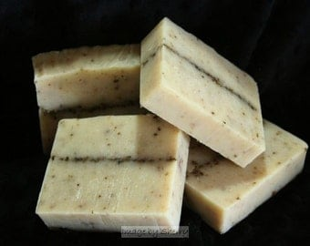 3d~ Lavender Goatmilk Soap Bars (x3) with FREE shipping