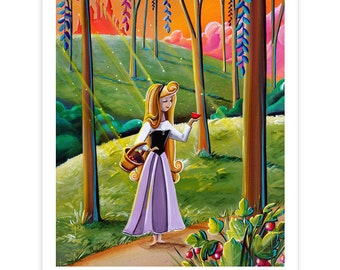 Dreamer Series Limited Edition - Briar Rose - Signed 8x10 Semi Gloss Print (4/20)