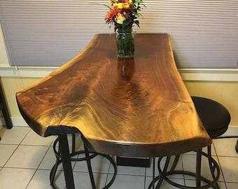 Custom Wood Slab Top