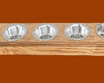 Cat 5 pet bowls elevated raised feeder with free pet names