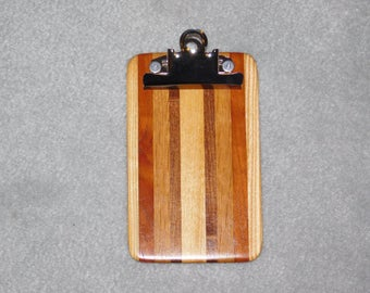 "Mini Hardwood Clipboard (6.5"" x 4"")"