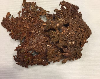 Natural Crystalized Copper Mineral