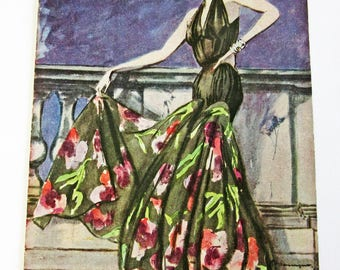Vintage Magazine French 1940's Modes et Travaux no. 560 June, 1947 Fashion and Sewing