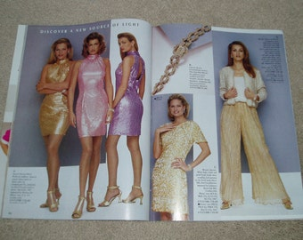 Vintage 1995 Bloomingdales Catalogs Vintage Fashion Clothing