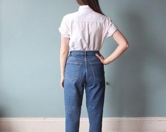high waisted jeans | high waist stretch jeans | 90s medium