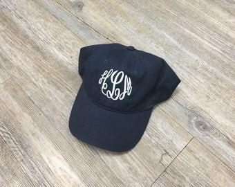 Monogrammed Baseball Hat - Monogrammed Baseball Cap - Monogrammed Hat - Personalized Baseball Hat - Monogrammed Gift - Personalized Hat