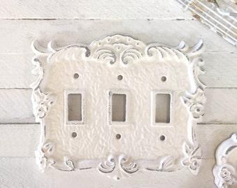 Light Switch Cover, Lighting, Light Switch Cover Plate, Distressed, Ornate Decor, French Decor, Romantic Decor