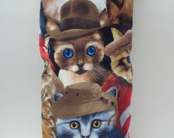 Catnip Kick Stick - Cats in Hats Pillow Wrestler
