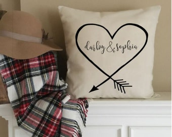 Custom Pillow Cover Custom Decorative Pillows Throw Pillow Case Couch Pillow Personalized Pillow Housewarming Gift Birthday Wedding Gift