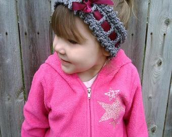 crochet pattern baby headband infant headband crochet pattern toddler headband crochet pattern ribbon crochet headband INSTANT pdf DOWNLOAD