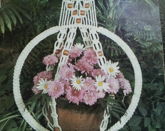 Set Of Two Vintage MACRAME Pattern Books 1970s-80s