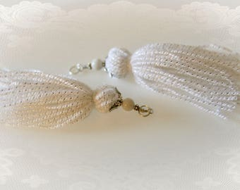 One Pair Guardian Angel Tassels - Set of Two for DIY Crafts and Jewelry