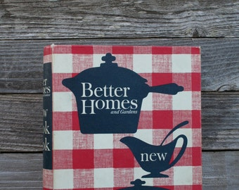 Better Homes and Gardens New Cookbook / 1965