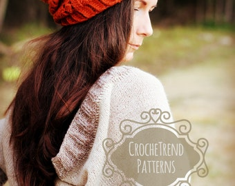 Autumn Hat Crochet Pattern